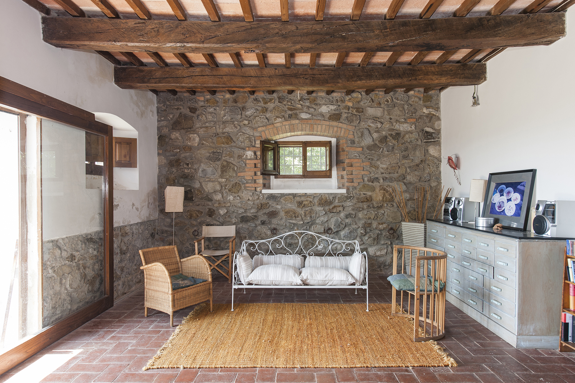 Additional photo for property listing at Typical farmhouse in the Tuscan Maremma Roccalbegna, Grosseto Italy