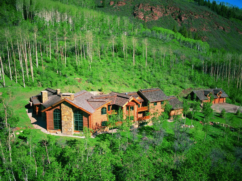 Maison unifamiliale pour l Vente à Majestic Castle Creek 931 North Hayden Drive Aspen, Colorado 81611 États-Unis