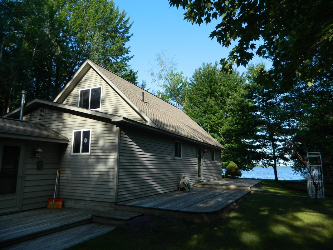Property For Sale at Tranquil Douglas Lake Cottage on 137 Feet of Frontage