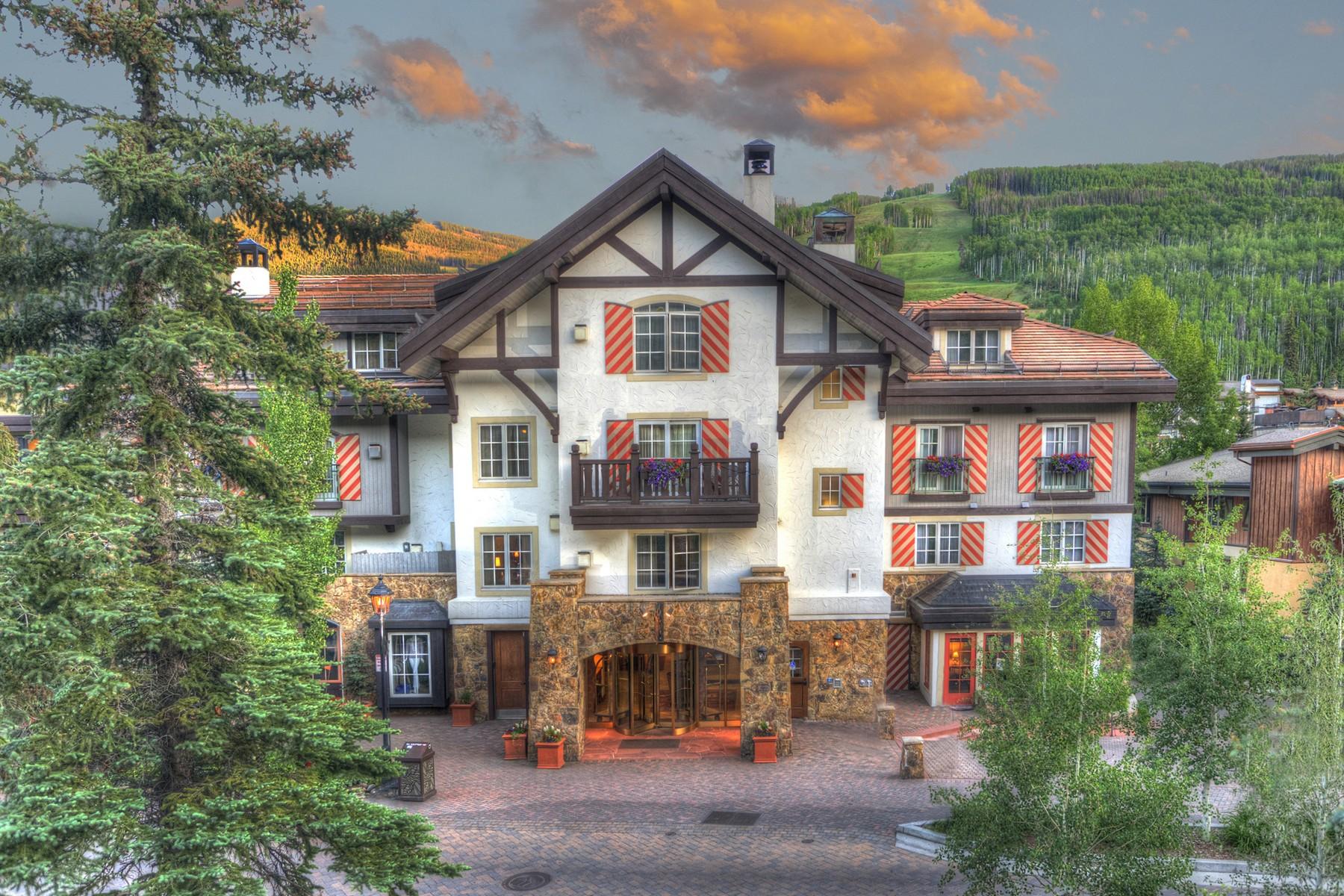 Bien divisible pour l Vente à Austria Haus Condominiums 242 E. Meadow Drive #301-07 Vail Village, Vail, Colorado, 81657 États-Unis