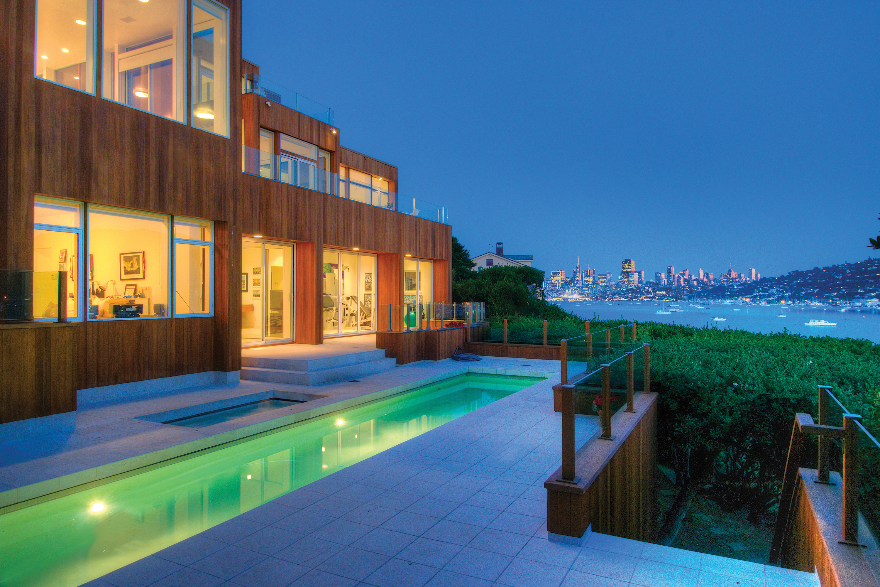 sales property at Striking Bay Front Modern