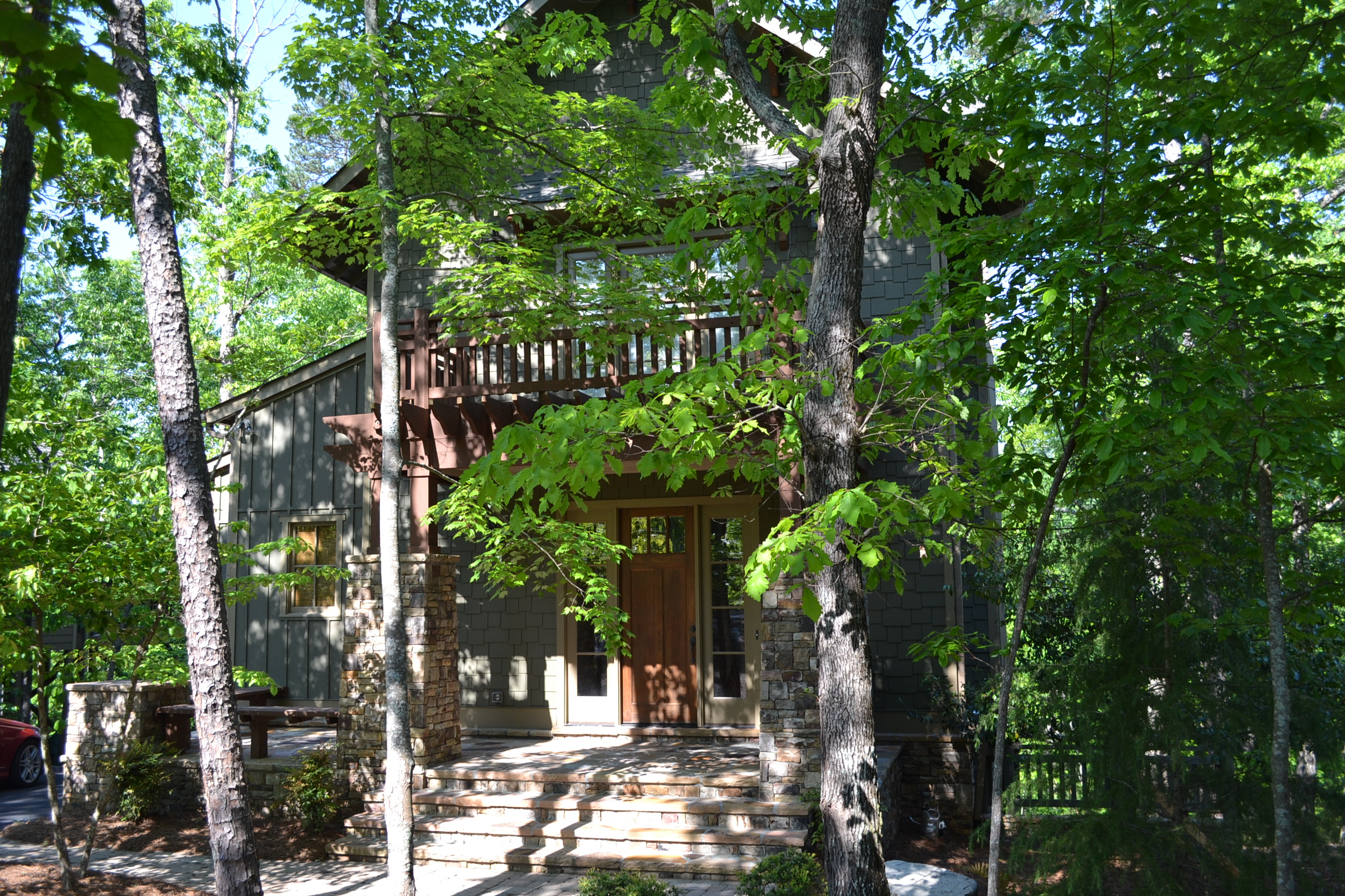 Maison unifamiliale pour l Vente à Charming Treasure 118 Choctaw Ridge Big Canoe, Georgia, 30143 États-Unis