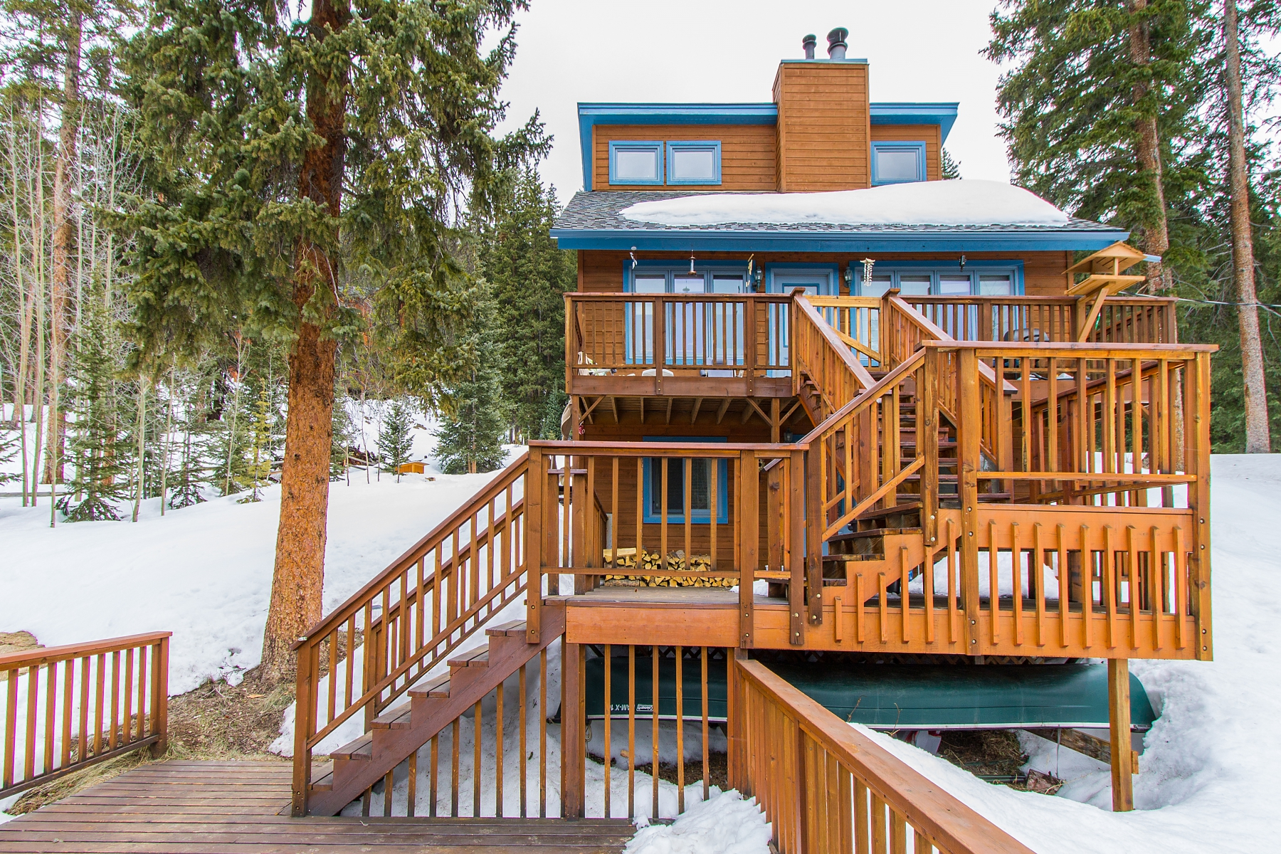 Single Family Home for Sale at Great Home In Blue River With Amazing Views 584 Range Road Breckenridge, Colorado 80424 United States