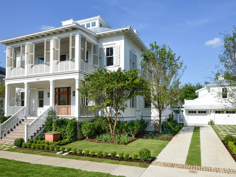 Tek Ailelik Ev için Satış at Water Front Estate - New Construction 1480 Wando View Street Charleston, South Carolina (Güney Carolina) 29492 Amerika Birleşik Devletleri