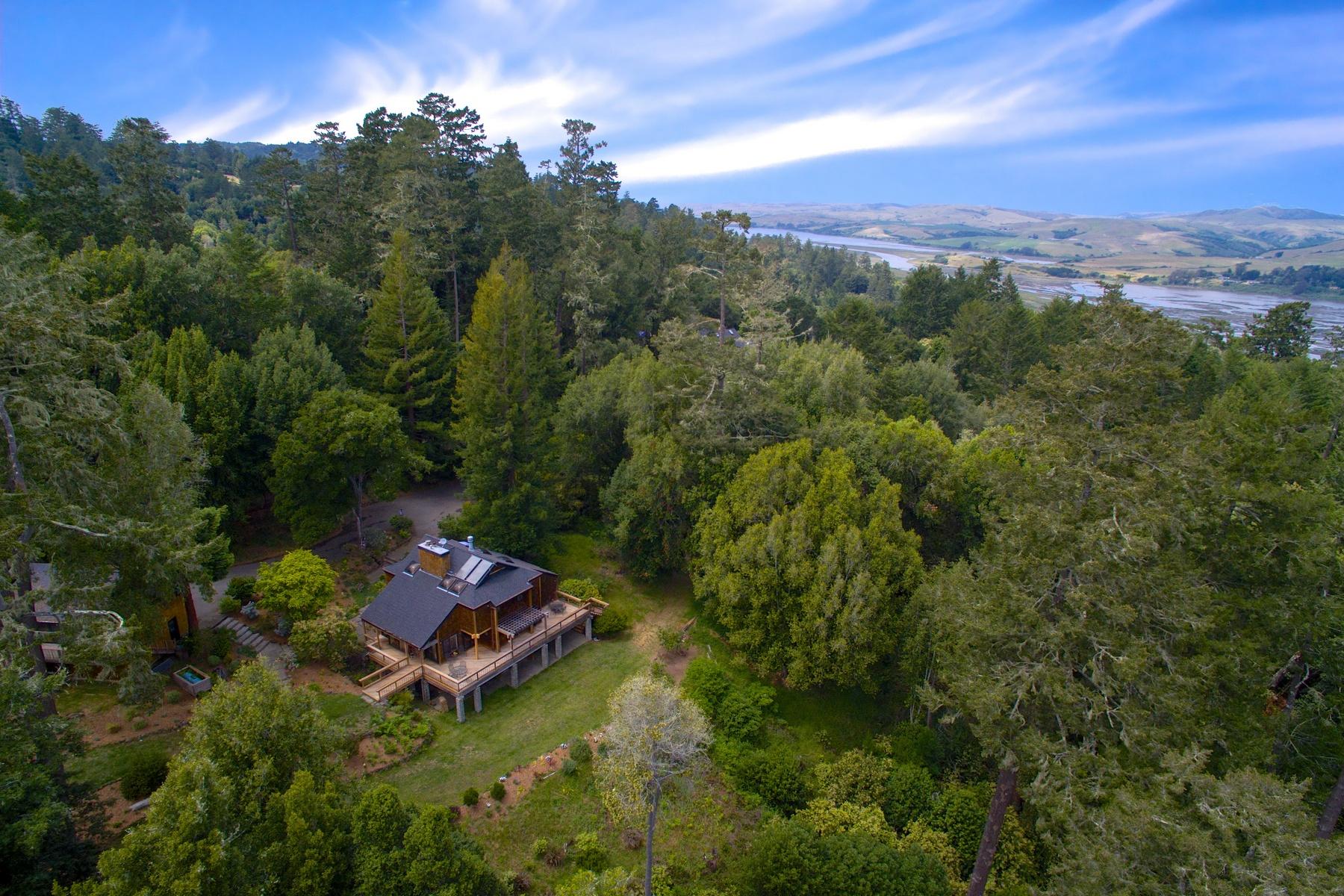 一戸建て のために 売買 アット Sweeping Views, Park-Like Setting 145 Silver Hills Road Point Reyes Station, カリフォルニア 94956 アメリカ合衆国