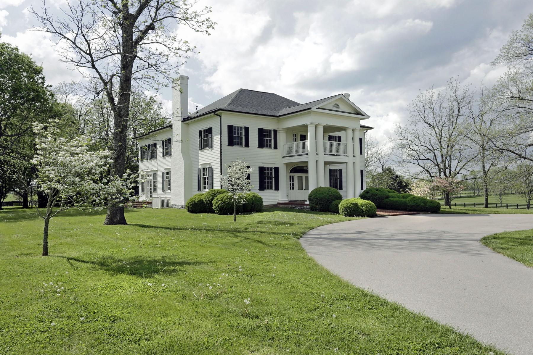 Maison unifamiliale pour l Vente à 4675 Big Sink Road Versailles, Kentucky, 40383 États-Unis