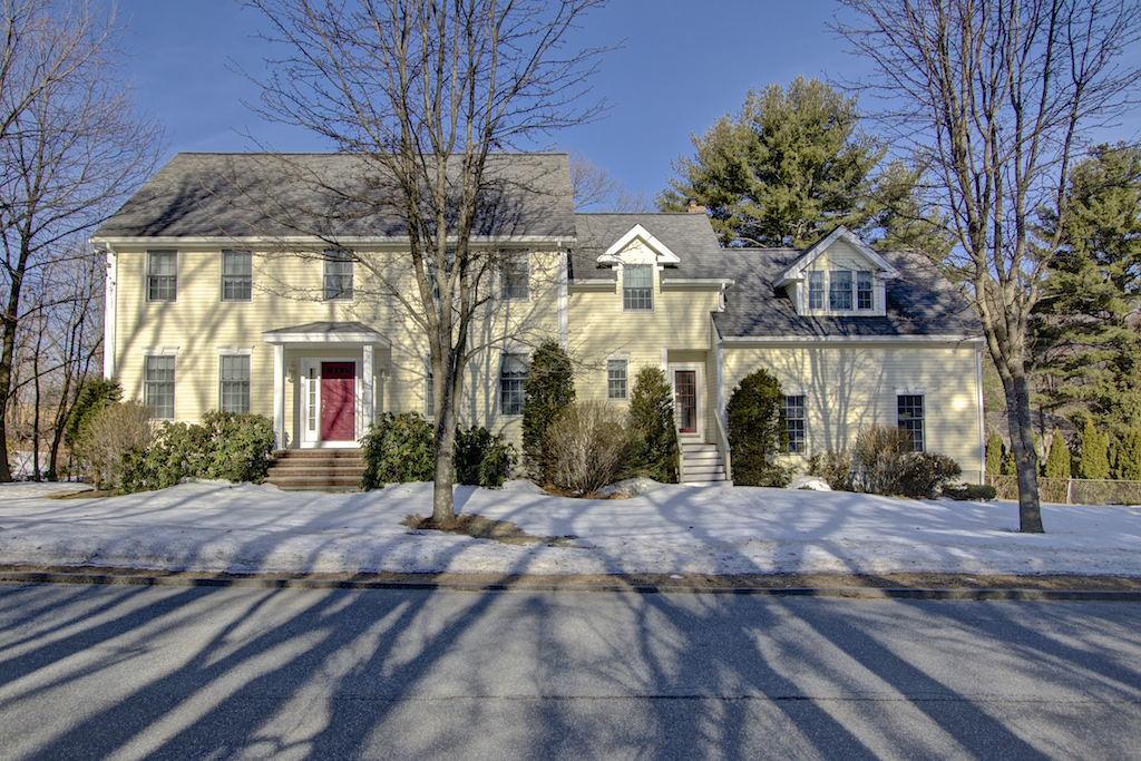 Property For Sale at Unique, Spacious Colonial in Library Estates in Burlington Center