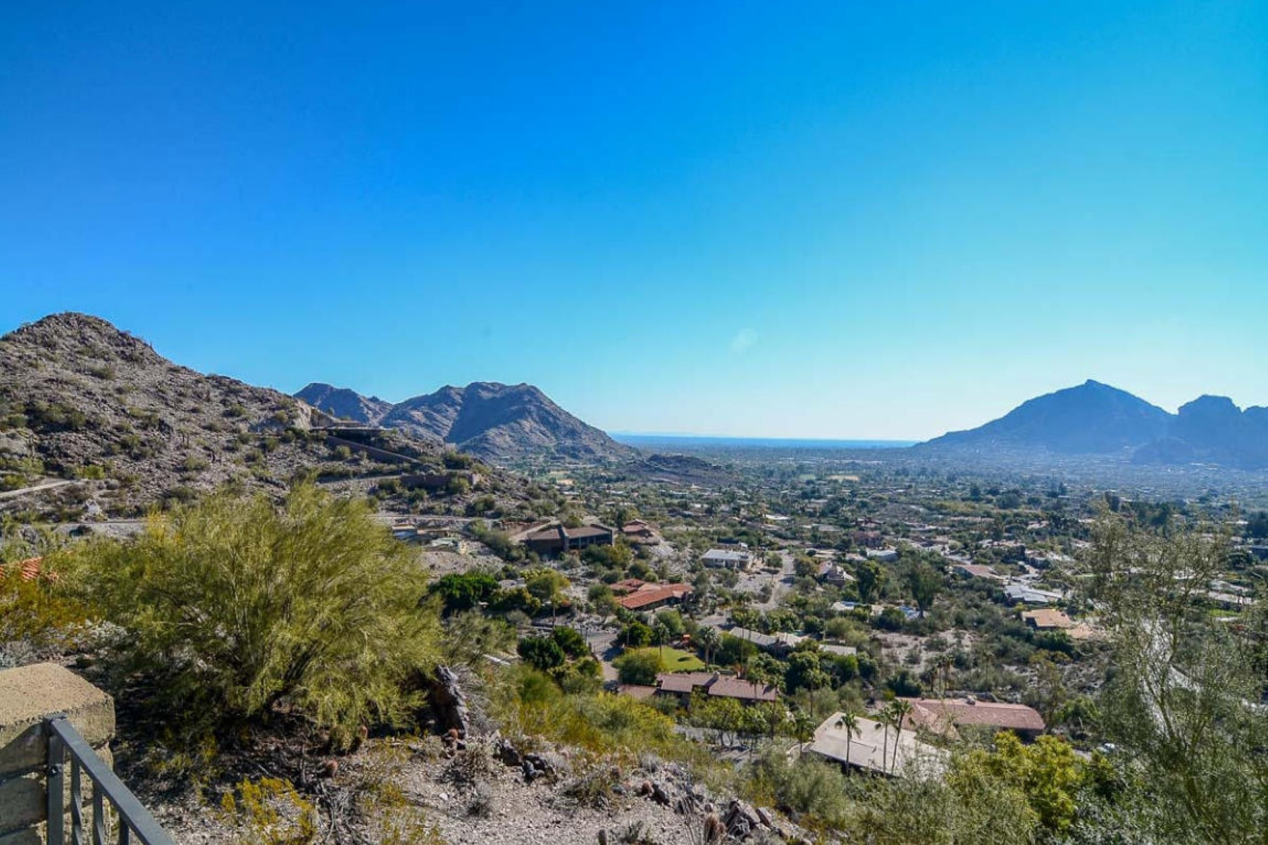 Property Of Amazing home on a large desert wash with hiking trails