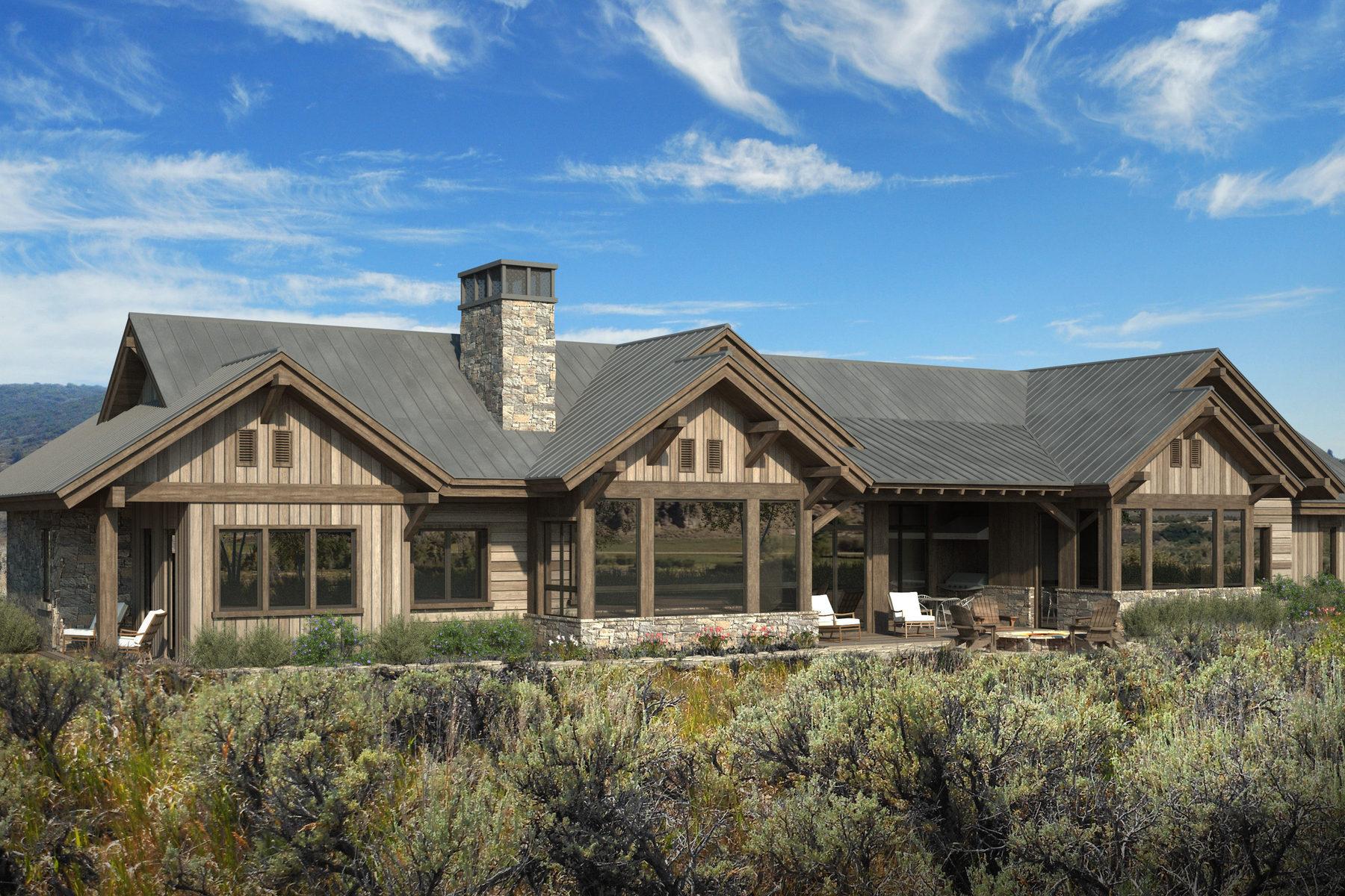 Maison unifamiliale pour l Vente à Custom Home Atop Victory Ranch's River Corridor 5787 E Rock Chuck Dr 31A Heber City, Utah 84032 États-Unis