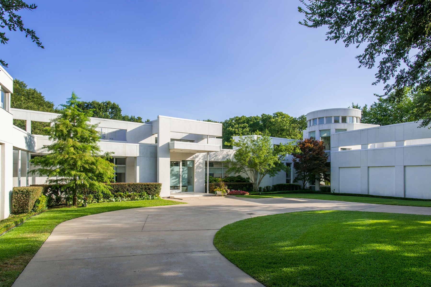 Single Family Home for Sale at Cochran Chapel Modern Contemporary 4130 Cochran Chapel Road Dallas, Texas 75209 United States