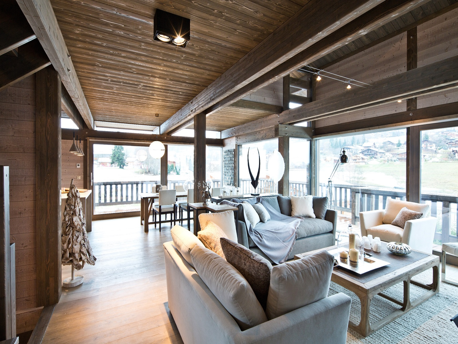 Single Family Home for Sale at Chalet EBENE Megeve, Rhone-Alpes 74120 France