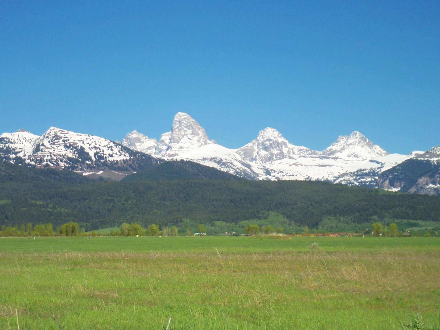 Земля для того Продажа на Glorious Teton Views 4946 Wydaho Ranch Trail Tetonia, Айдахо, 83452 Jackson Hole, Соединенные Штаты