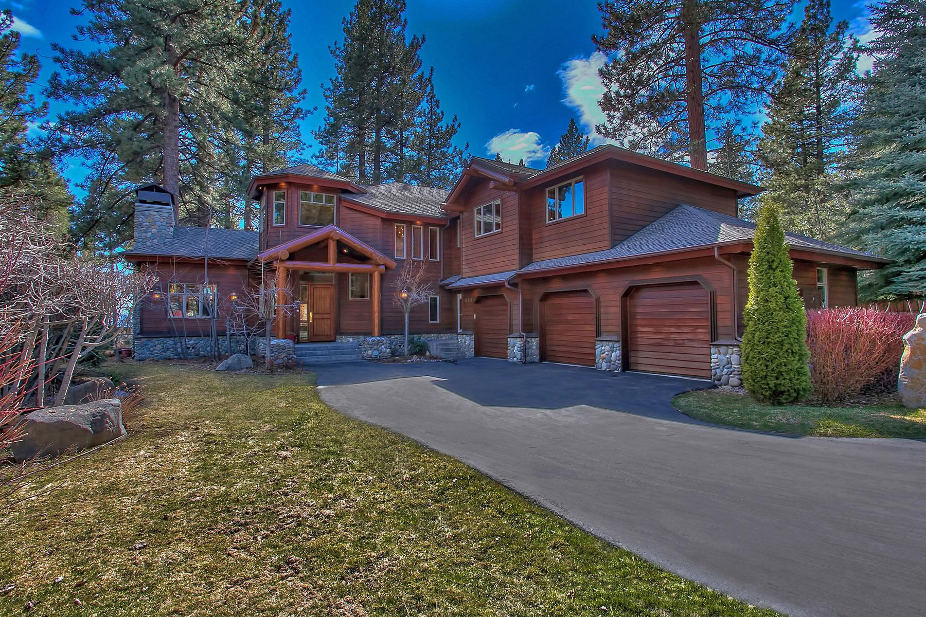 Частный односемейный дом для того Продажа на 948 Lakeshore View Court Incline Village, Невада, 89451 Соединенные Штаты