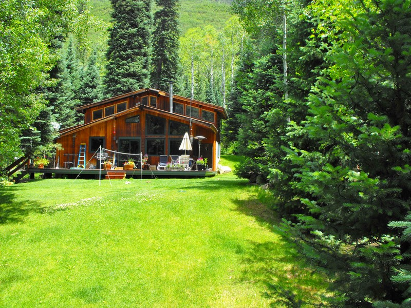 Single Family Home for Sale at Cabin in East Aspen 44971 East Highway 82 Aspen, Colorado 81611 United States