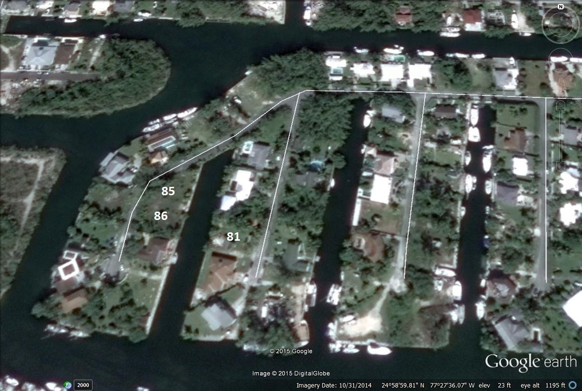 Additional photo for property listing at Coral Harbour Lot 85 Coral Harbour, Nueva Providencia / Nassau Bahamas