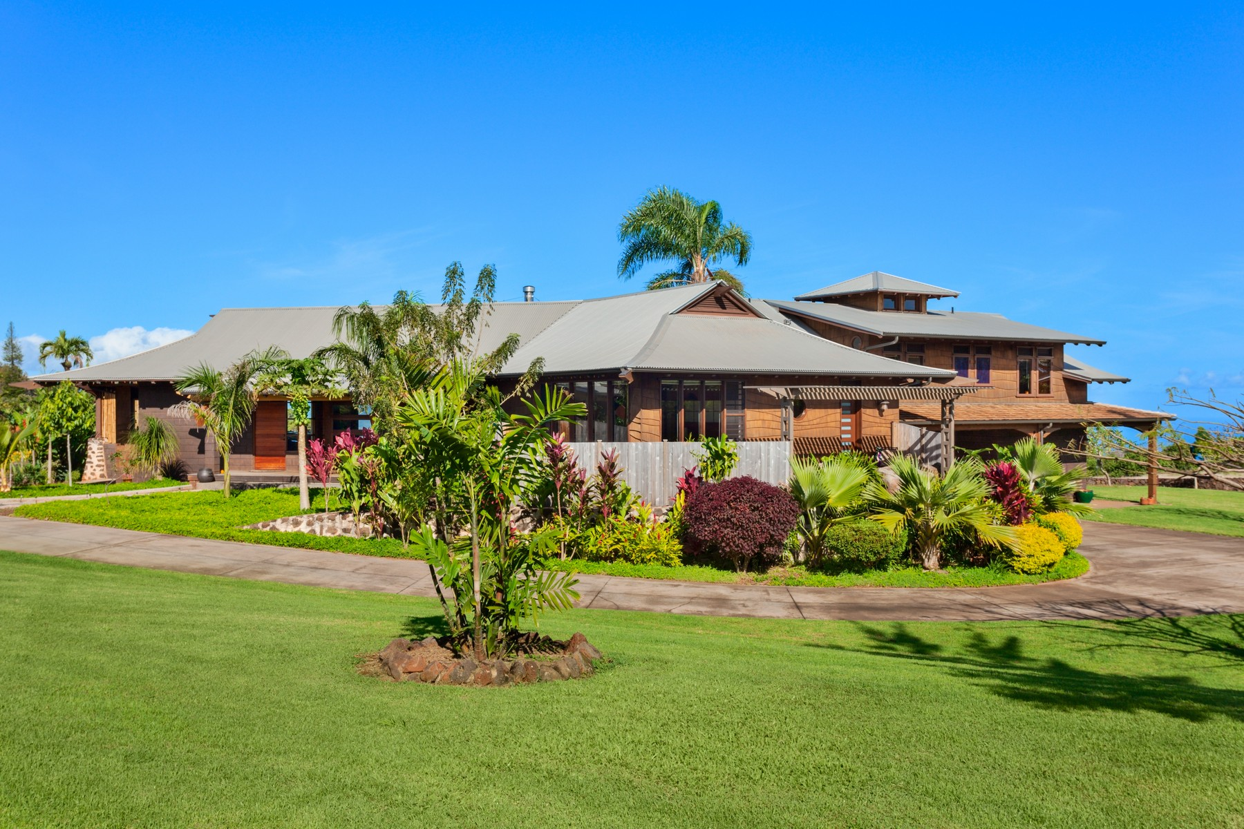 Casa Unifamiliar por un Venta en Pristine 70 Acre Estate - Upcountry Maui 3035 Baldwin Avenue Makawao, Hawaii 96768 Estados Unidos