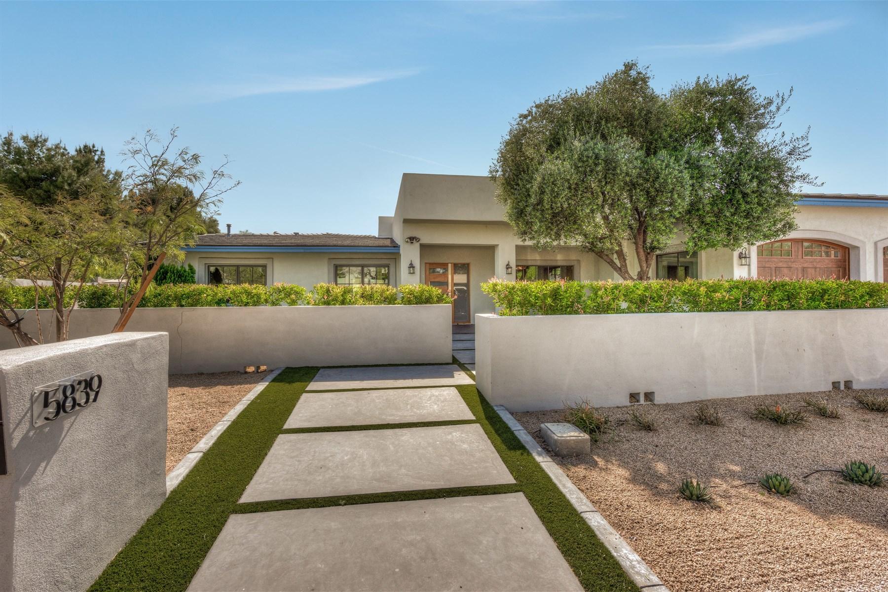 独户住宅 为 销售 在 Sophisticated California Coastal design with attention to detail 5839 E Onyx Ave 天堂谷, 亚利桑那州, 85253 美国