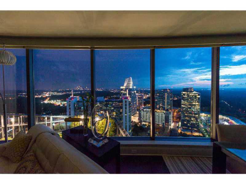 Condominium for Sale at Sovereign Primo Unit with Incredible Views 3344 Peachtree Street NE #3601 Atlanta, Georgia 30326 United States