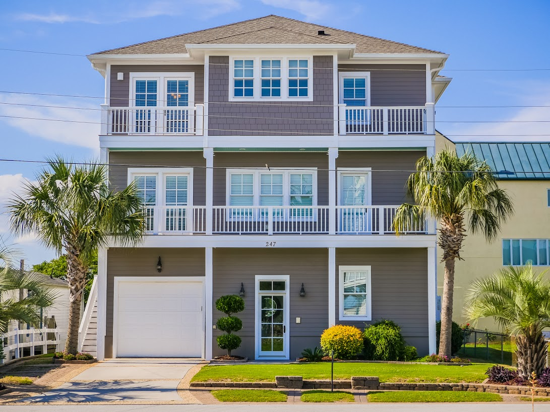 Single Family Home for Sale at Inviting Custom Residence with Water Views and Elevator 247 Moonlight Drive Atlantic Beach, North Carolina, 28512 United States