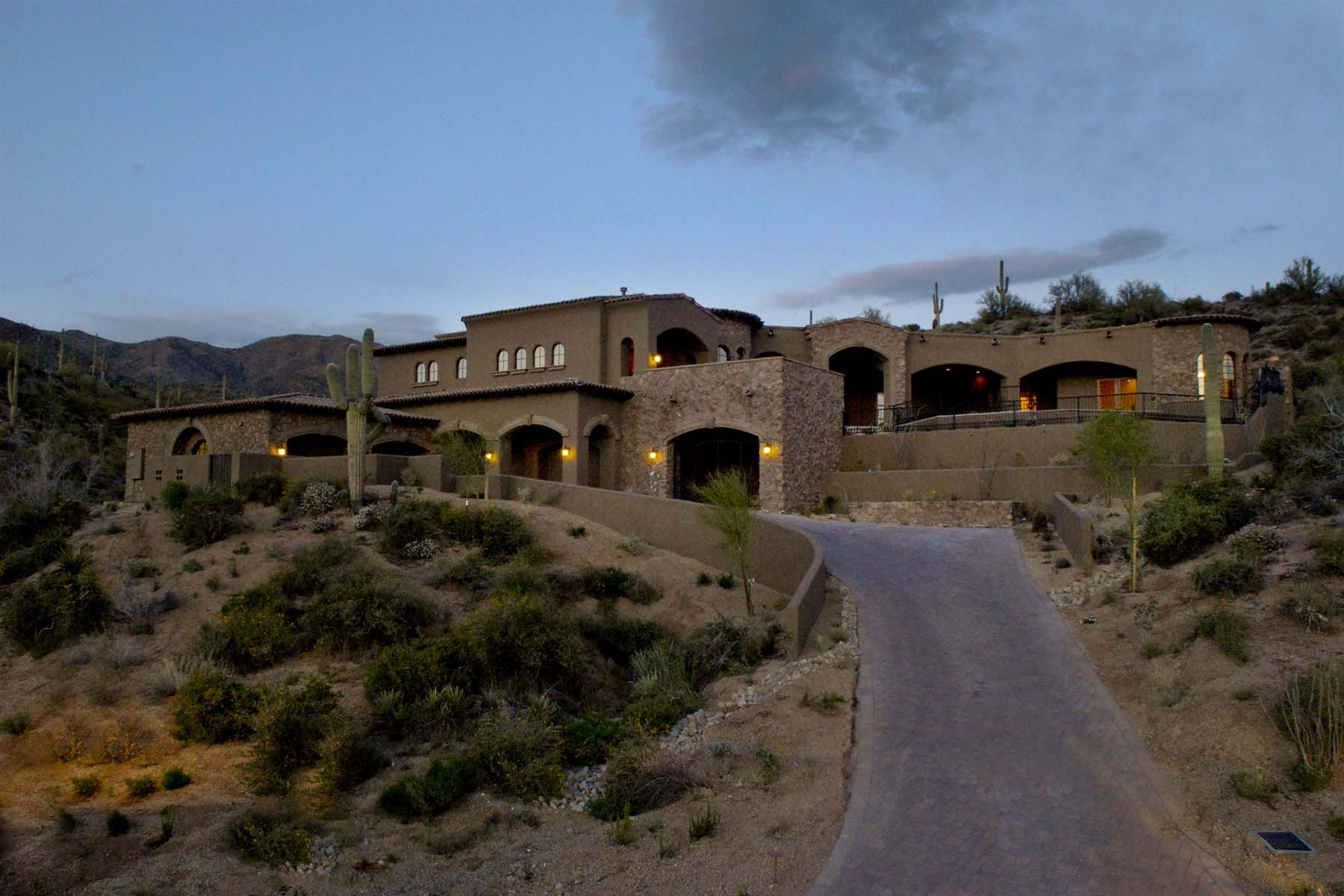 sales property at Elevated 2.5 acre Saguaro Forest premium home site.