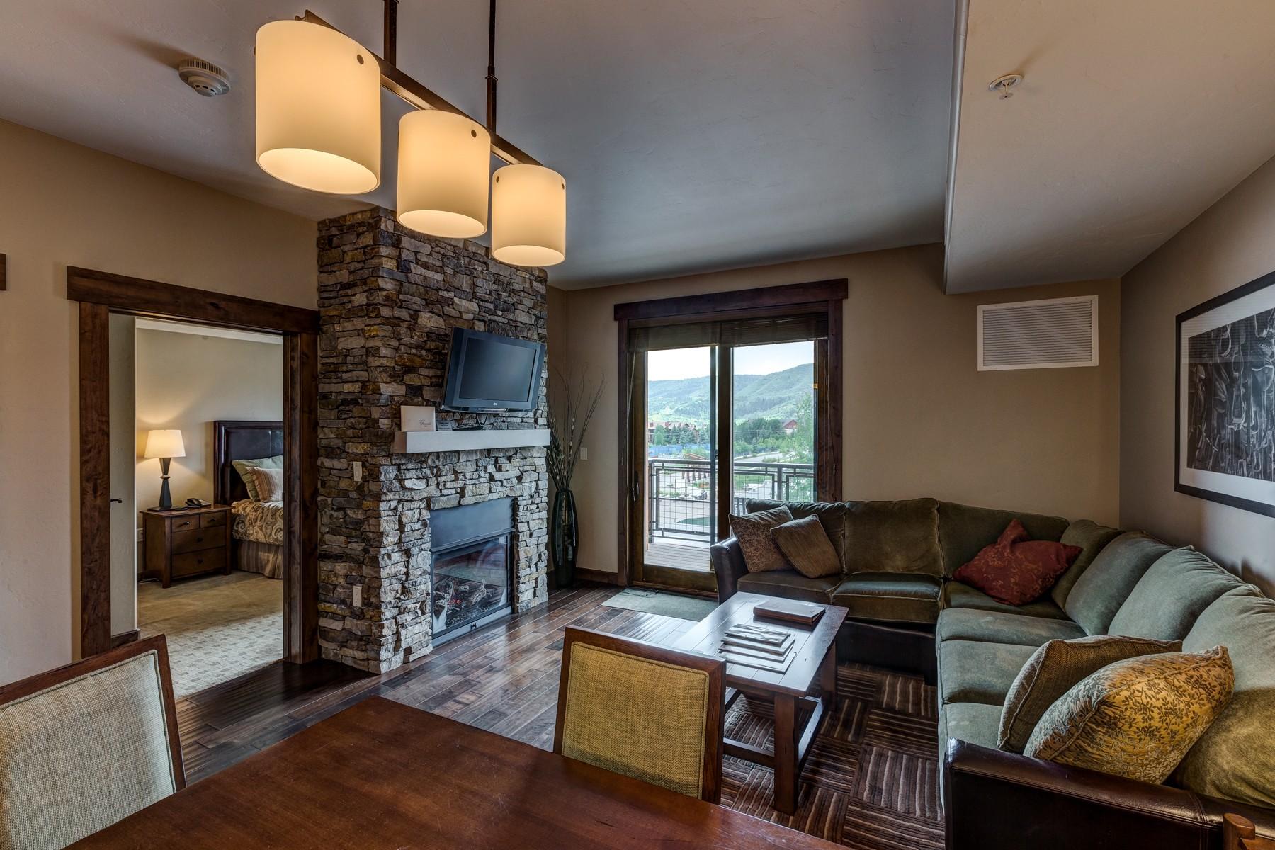 Copropriété pour l Vente à Trailhead Lodge #3110 1175 Bangtail Lane #3110 Steamboat Springs, Colorado 80487 États-Unis
