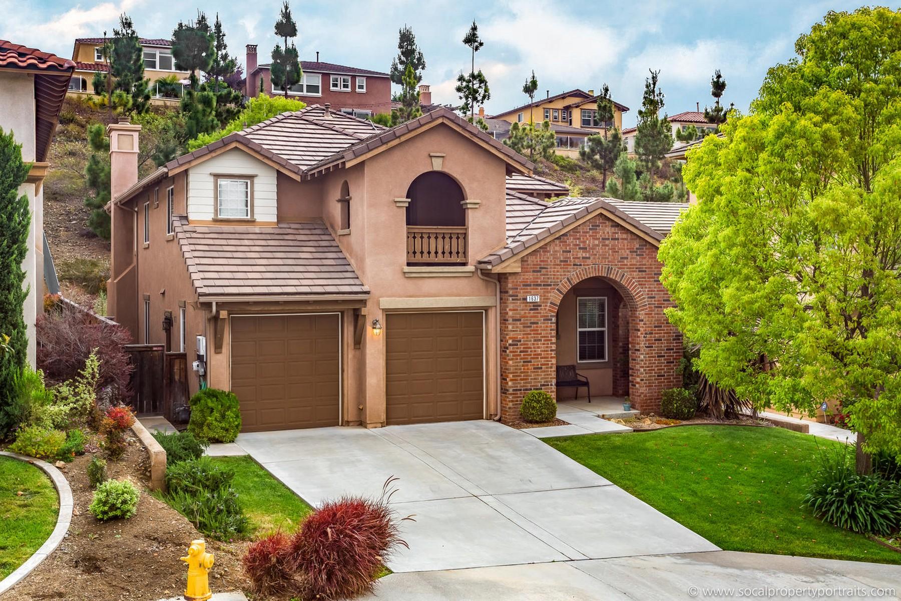 단독 가정 주택 용 매매 에 1637 Reflection 1637 Reflection Street San Marcos, 캘리포니아, 92078 미국
