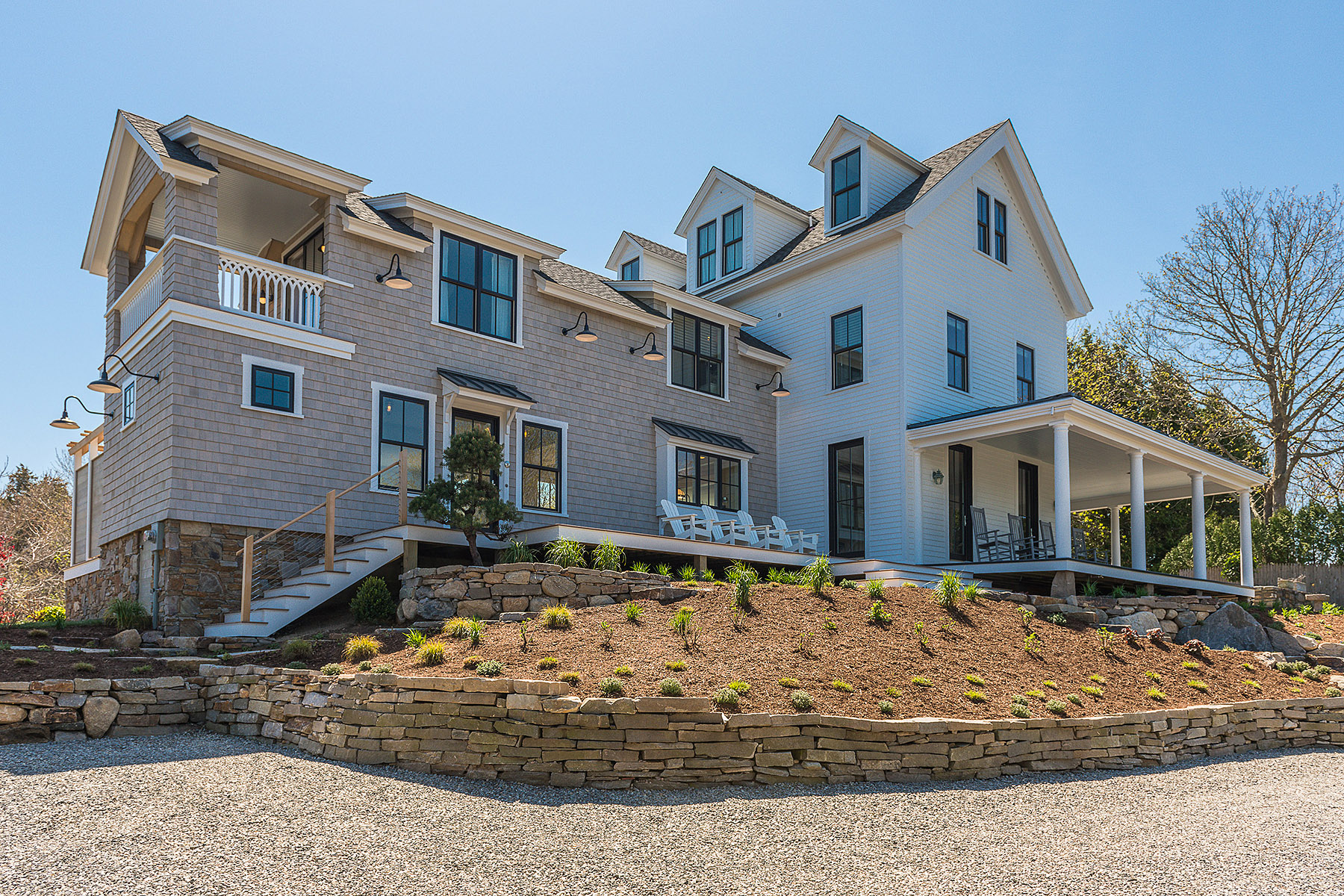 Single Family Home for Sale at Greycote 18 Wauwinnet Avenue Watch Hill Village Westerly, Rhode Island 02891 United States