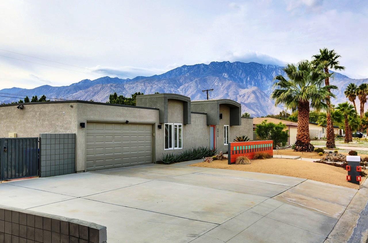 Vivienda unifamiliar por un Venta en 2415 East Finley Rd Palm Springs, California, 92262 Estados Unidos
