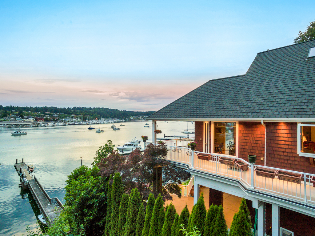 Single Family Home for Sale at Downtown Gig Harbor Waterfront 8104 Goodman Dr NW Gig Harbor, Washington, 98335 United States