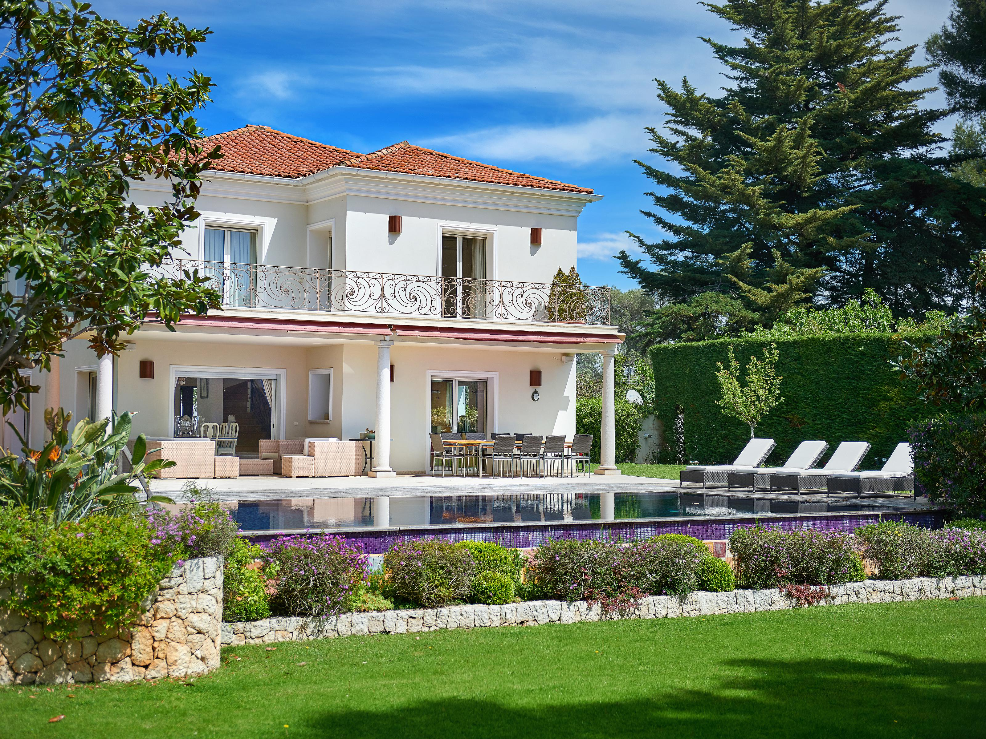 Property For Sale at Magnificent Mediterranean villa located on the Cap d'Antibes