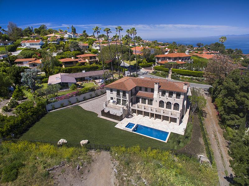 Casa para uma família para Venda às New Construction 980 Via Rincon Palos Verdes Estates, Califórnia, 90274 Estados Unidos