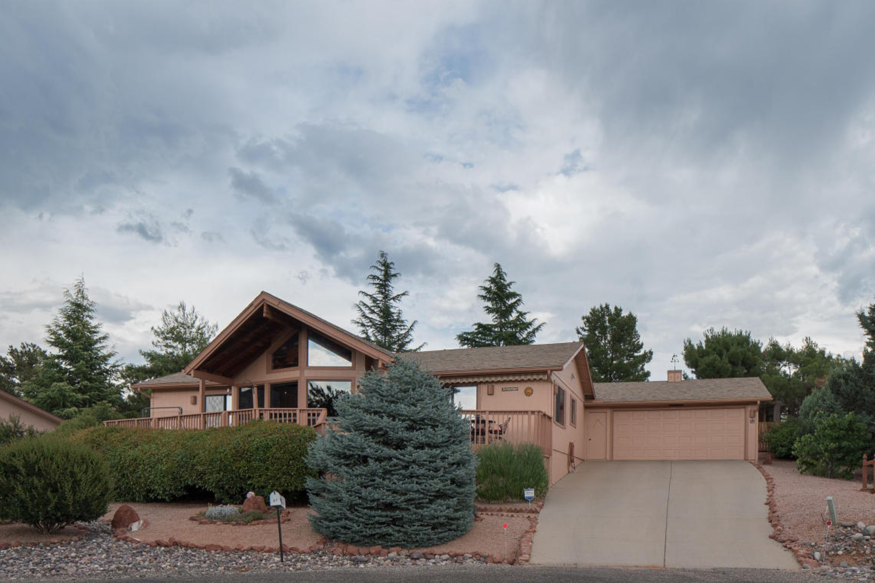 sales property at Sits high and enjoys amazing red rock views of Bell Rock.