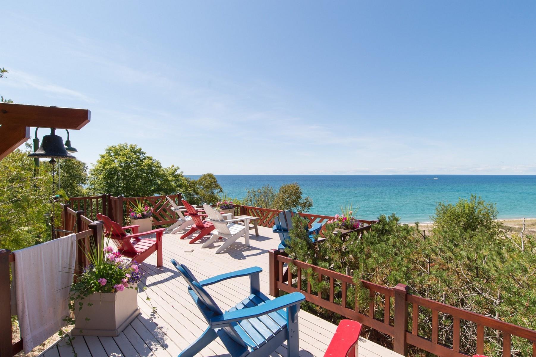 Single Family Home for Sale at Sandpiper Estate 08625 Mt. McSauba Road Charlevoix, Michigan, 49720 United States