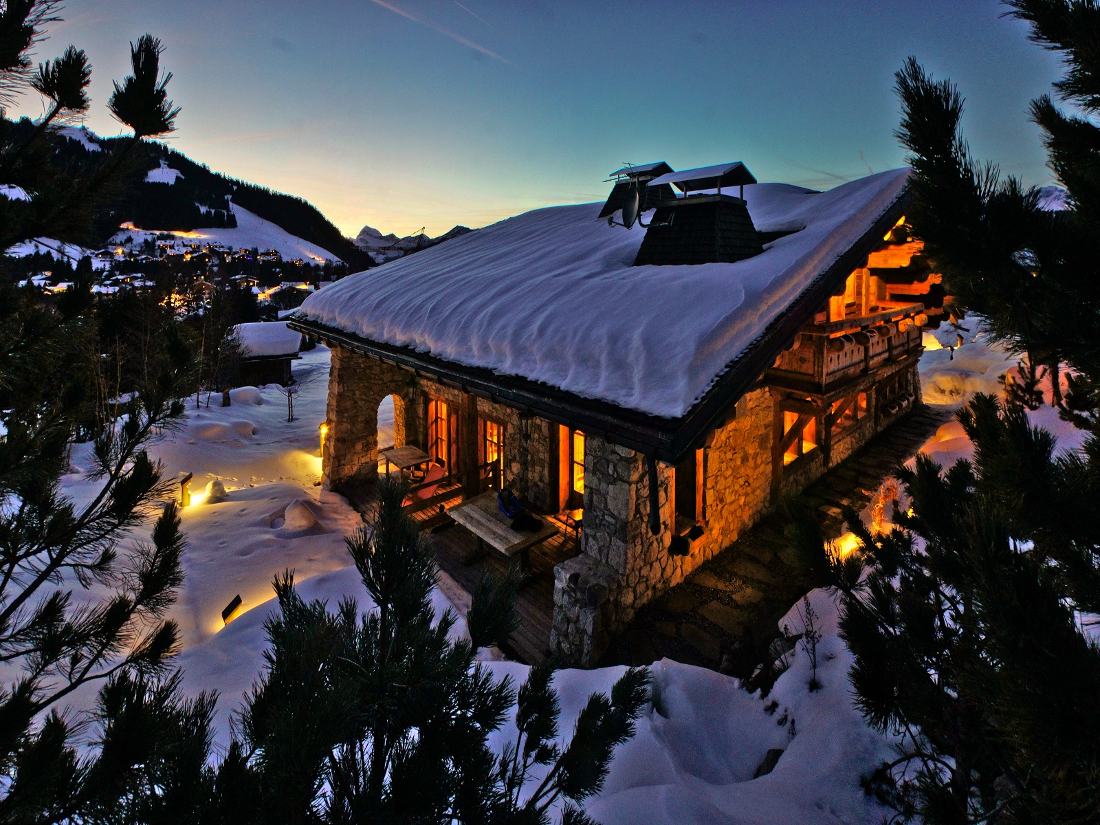 Single Family Home for Sale at Chalet OPALE Megeve, Rhone-Alpes 74120 France