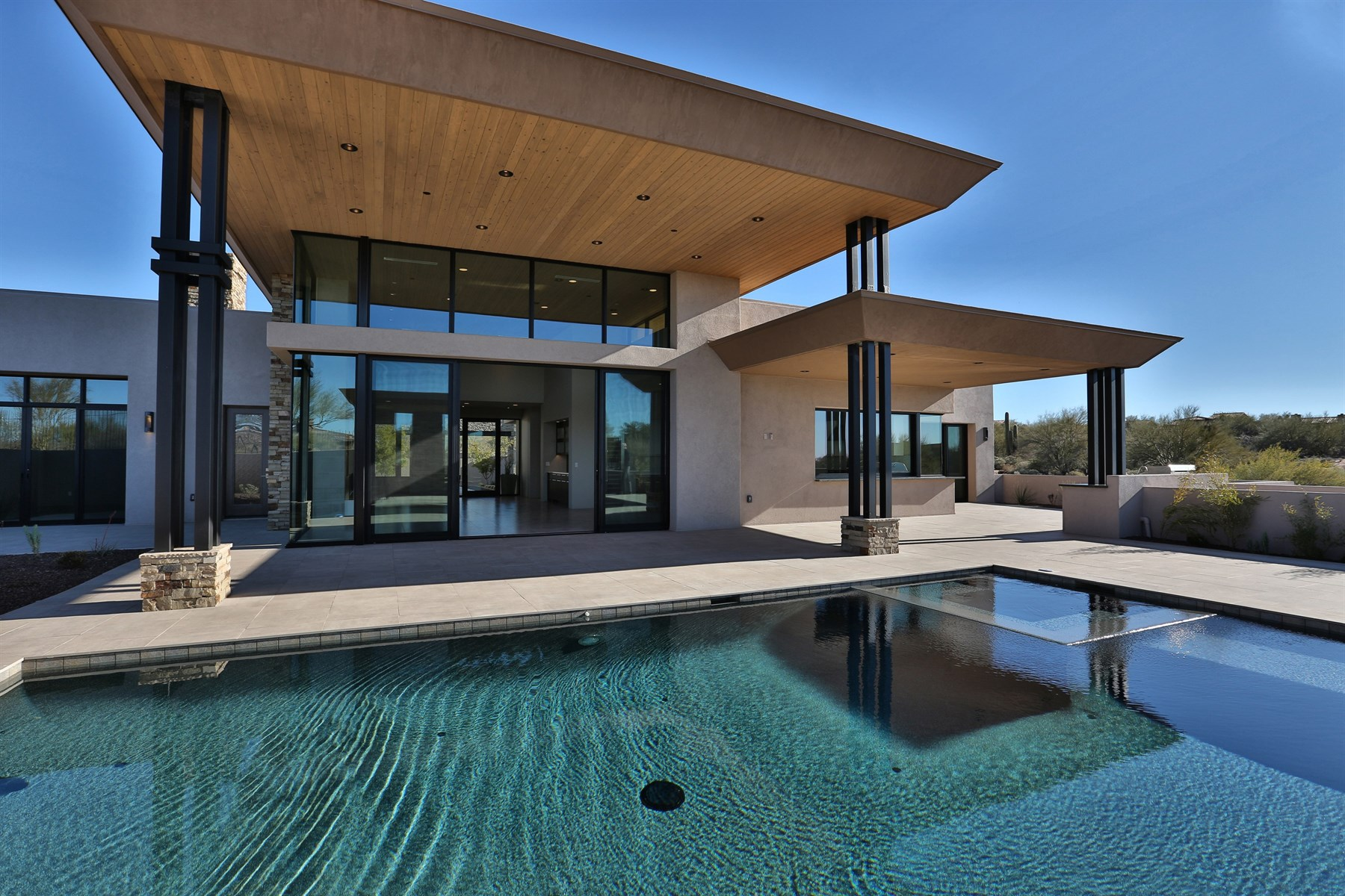 一戸建て のために 売買 アット State Of The Art Glass And Water Contemporary Luxury New Build 10361 E Rising Sun Drive Scottsdale, アリゾナ, 85262 アメリカ合衆国