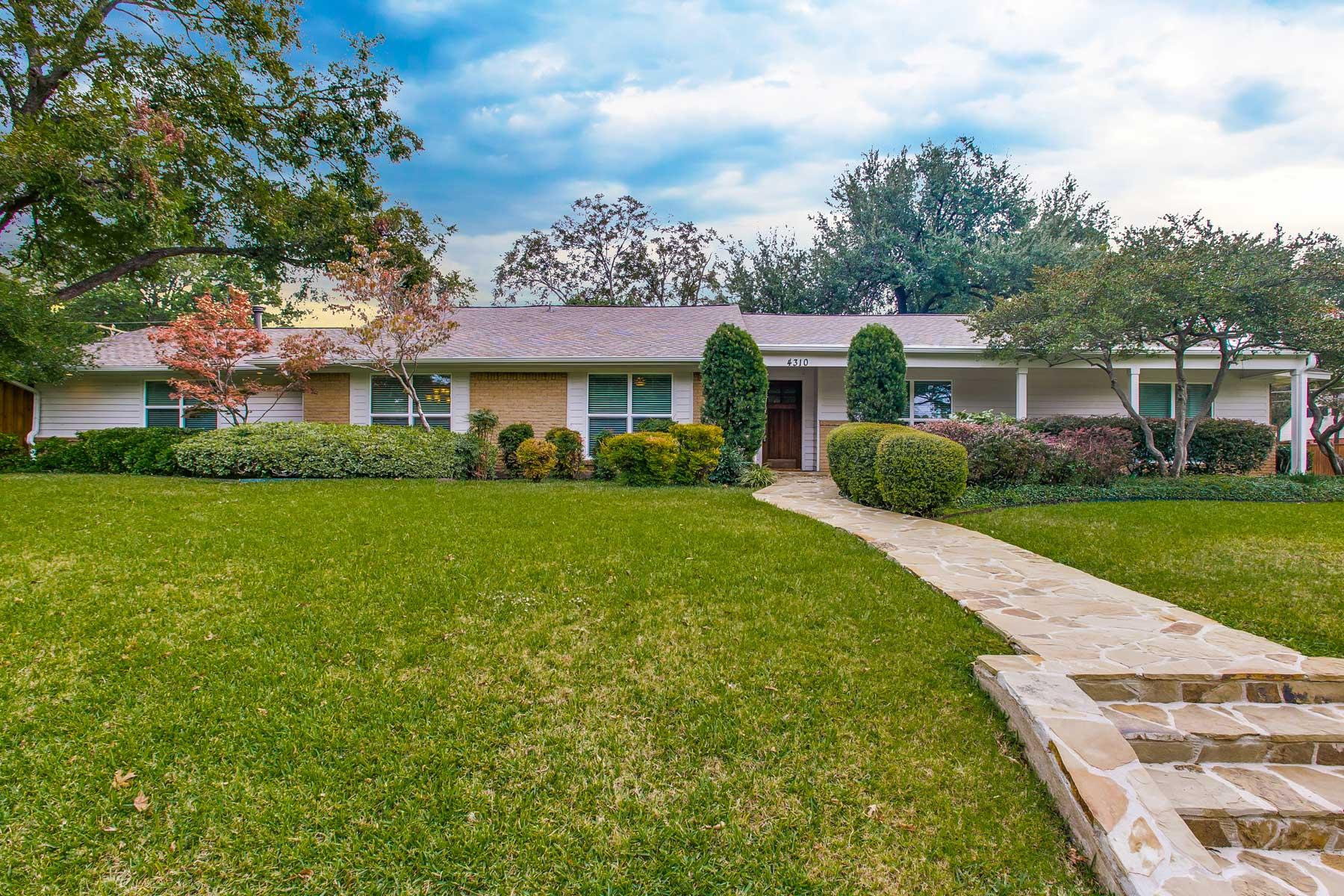 Villa per Vendita alle ore 4310 Reaumur Drive Dallas, Texas 75229 Stati Uniti
