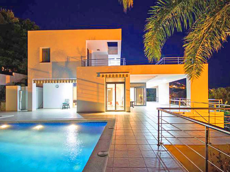 Single Family Home for Sale at Modern House in Altea Hills with sea view and clean lines with no equal Altea, Alicante Costa Blanca 03590 Spain