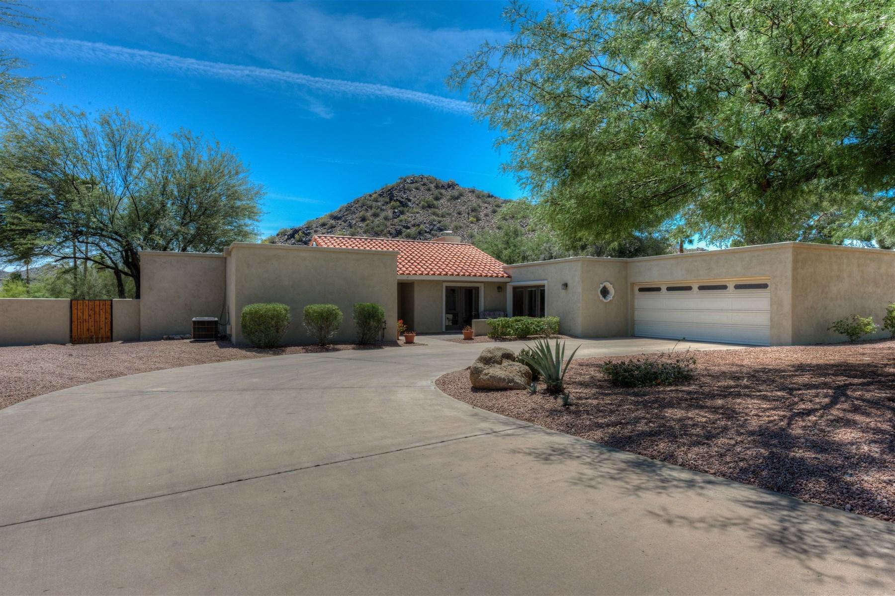 獨棟家庭住宅 為 出售 在 Absolutely the best lot in Rancho Alta Vida 4549 E Mountain View Rd Phoenix, 亞利桑那州, 85028 美國