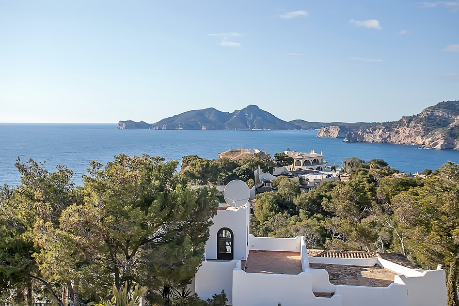 Einfamilienhaus für Verkauf beim Terraced house with sea views in Port Andratx Port Andratx, Mallorca Spanien