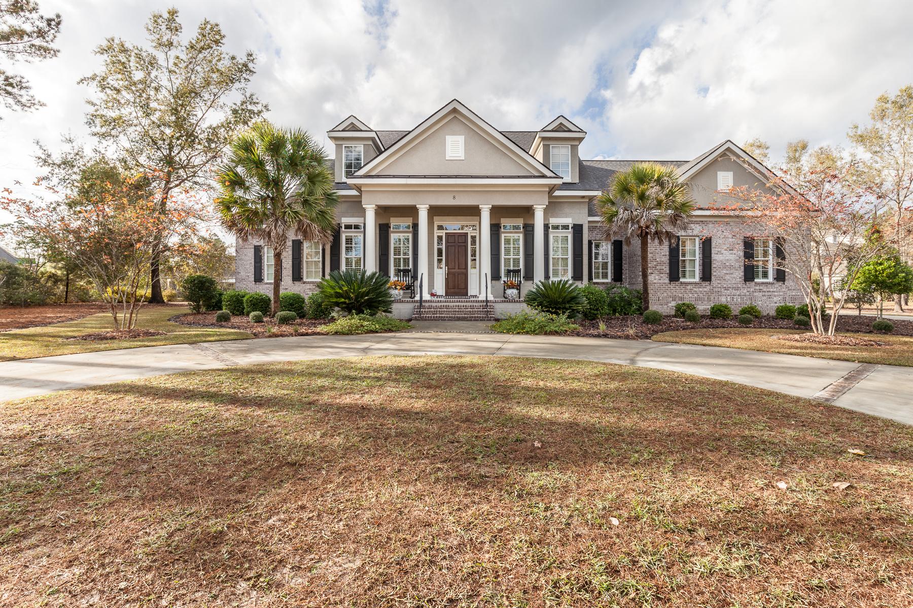 一戸建て のために 売買 アット 8 Hythe Retreat Pooler, ジョージア, 31322 アメリカ合衆国