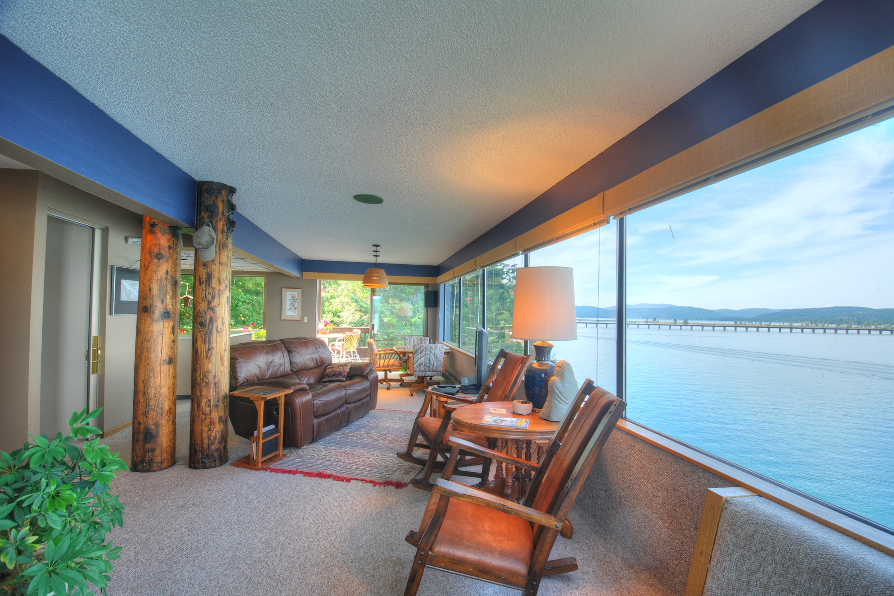 Single Family Home for Sale at Iconic Waterfront Home 3079 Bottle Bay Road Sagle, Idaho 83860 United States