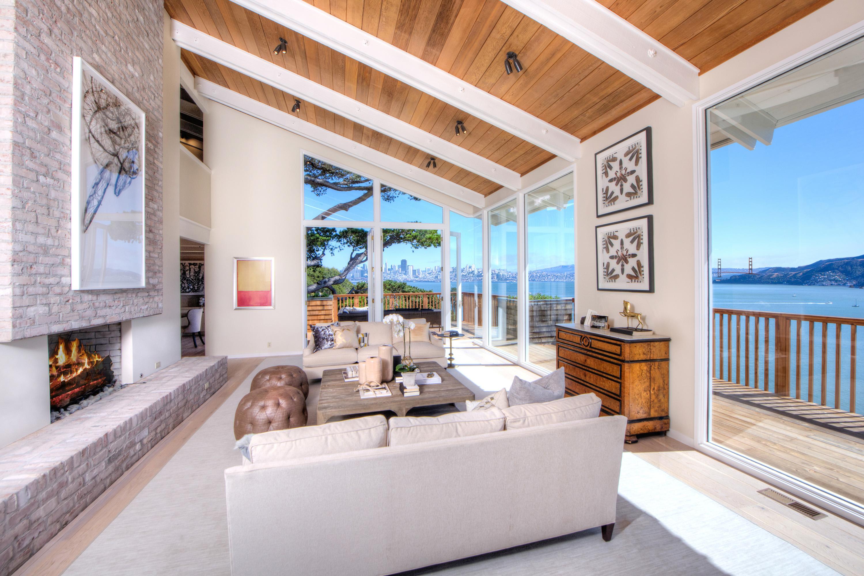 獨棟家庭住宅 為 出售 在 Island Hideaway in Belvedere 280 Belvedere Ave Belvedere, 加利福尼亞州, 94920 美國