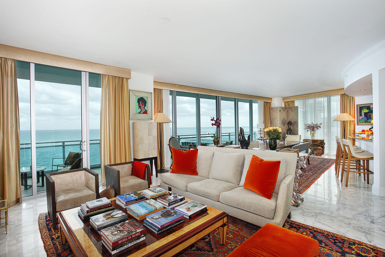 Appartement en copropriété pour l Location à One Bal Harbour Ritz Carlton 10295 Collins Ave Unit 1401 Bal Harbour, Florida 33160 États-Unis