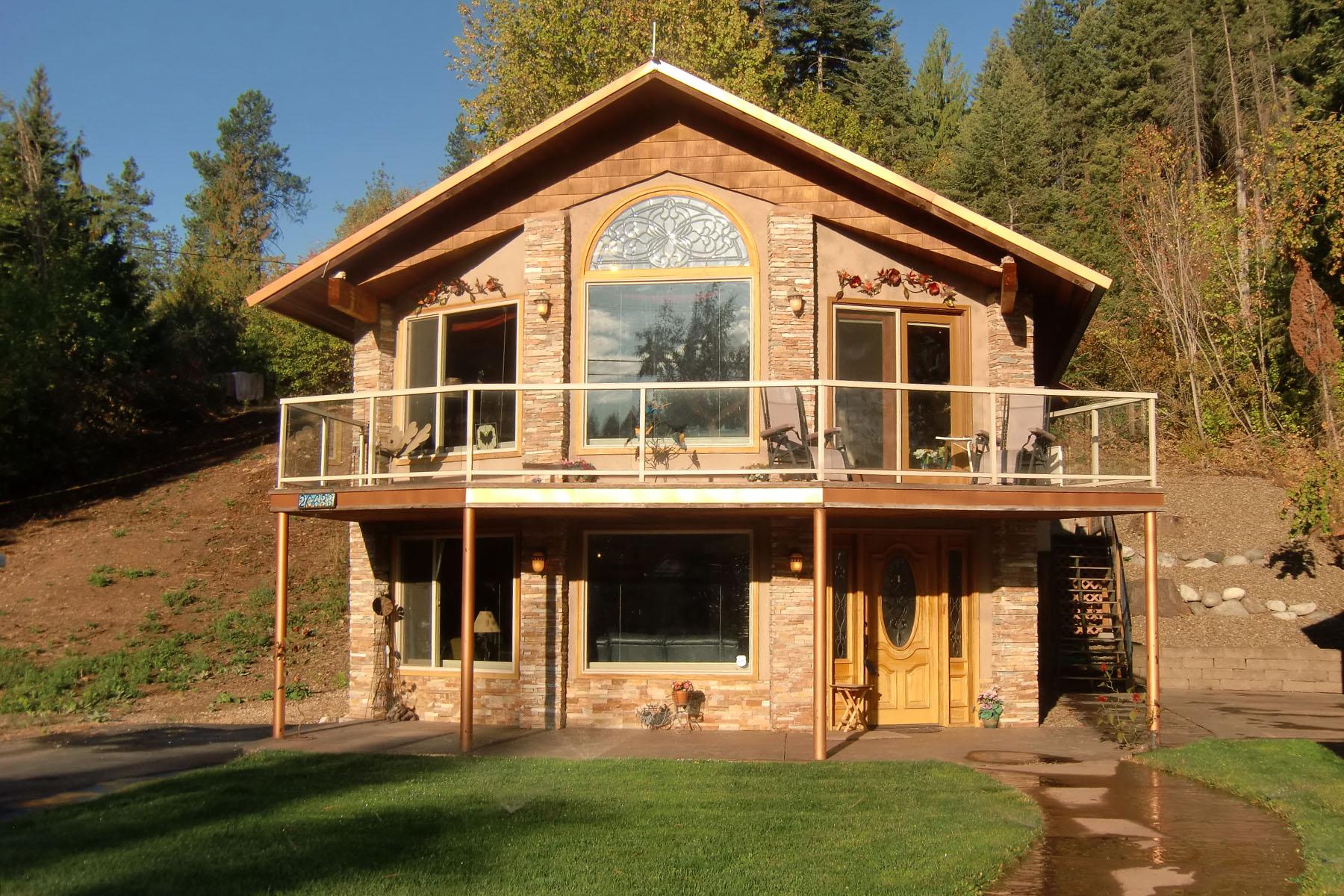 Maison unifamiliale pour l Vente à Beautiful Secondary Waterfront 20633 N Altamont RD Rathdrum, Idaho 83858 États-Unis