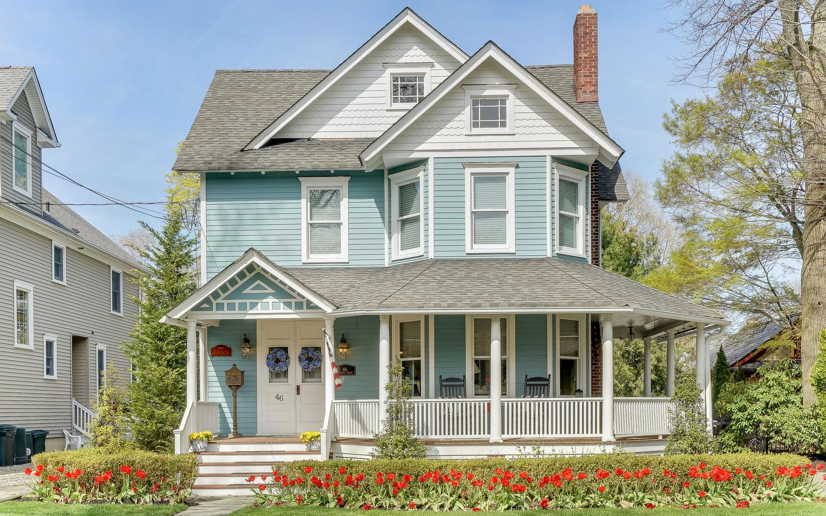 Single Family Home for Sale at Meticulously Restored and Updated! 46 Virginia Avenue Manasquan, New Jersey, 08736 United States