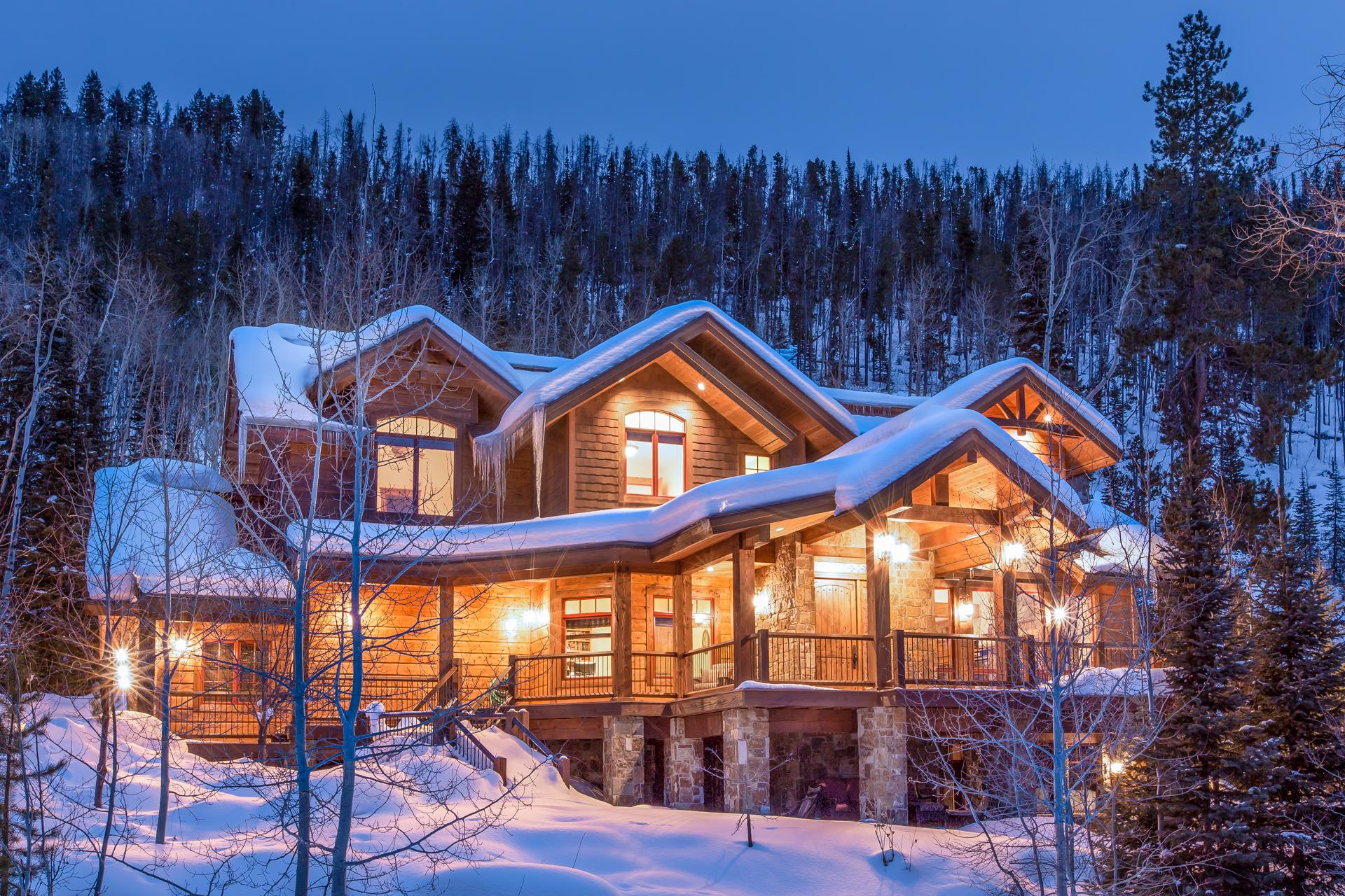 Einfamilienhaus für Verkauf beim The Sanctuary 3095 Aspen Wood Dr. Steamboat Springs, Colorado 80487 Vereinigte Staaten