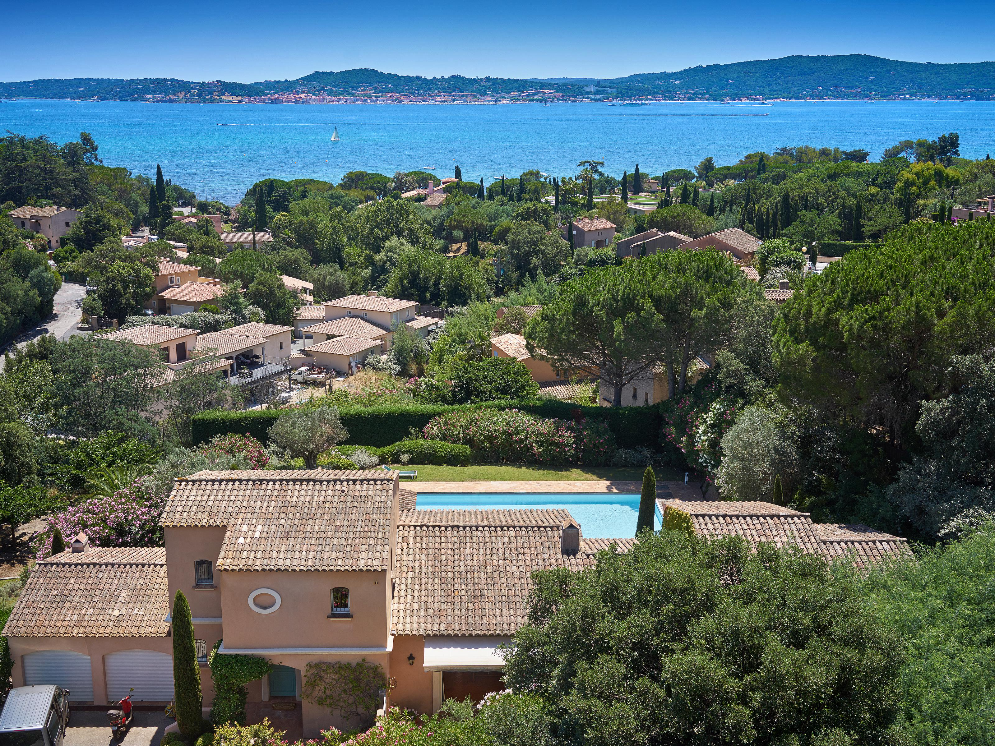 Single Family Home for Sale at Splendid provencal style house with astounding views over the golfe of St Tropez Saint Maxime Other Provence-Alpes-Cote D'Azur, Provence-Alpes-Cote D'Azur 83120 France