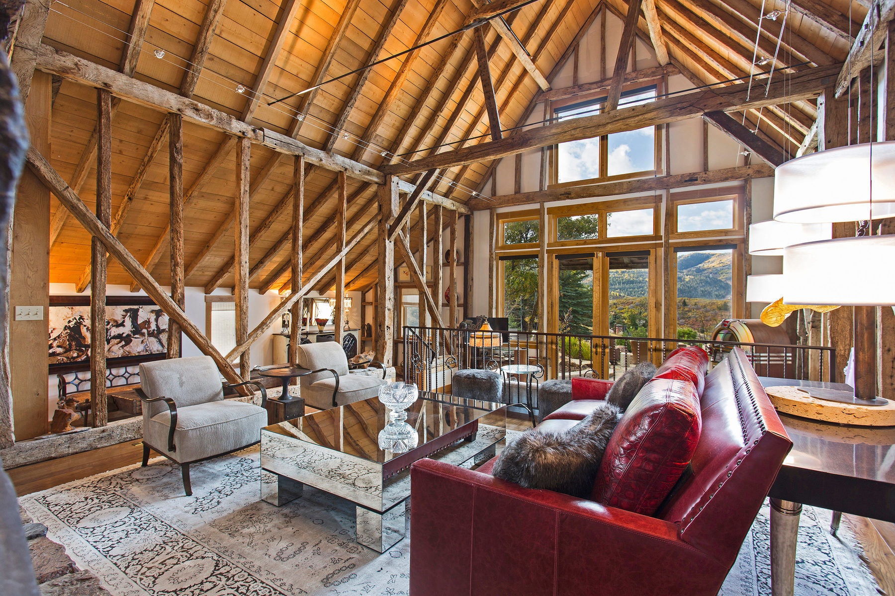Additional photo for property listing at The Takeley Barn - Ultra Rare, Irreplaceable Rustic Chic in The Aerie 1403 Eagle Way Park City, Utah 84060 United States
