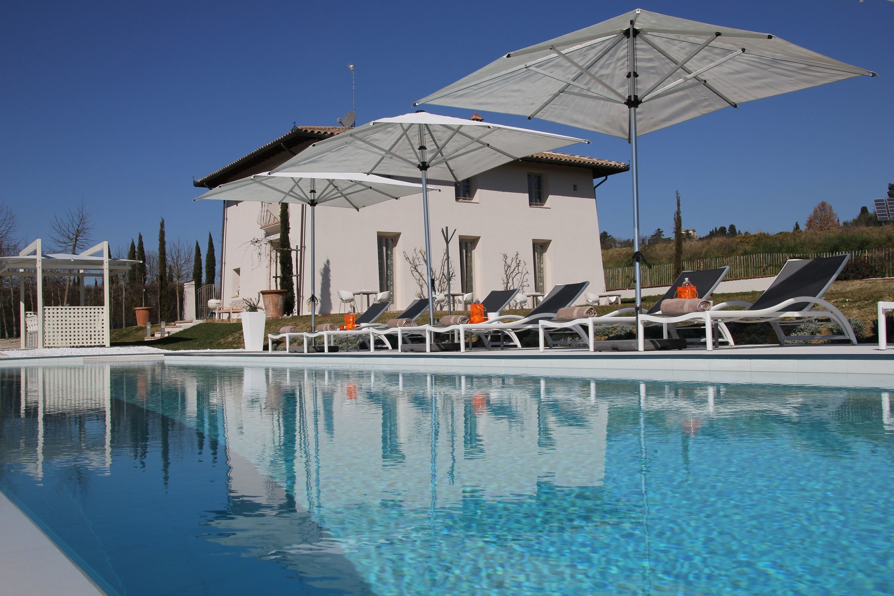 Single Family Home for Sale at Splendid country chic style villa Other Arezzo, Italy