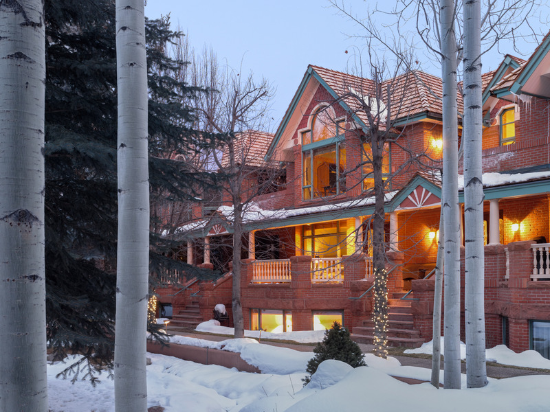 Townhouse for Sale at Custom Contemporary Townhome in Downtown Aspen 132 North Spring Street Aspen, Colorado 81611 United States